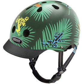 Nutcase Little Nutty Street Casco de bicicleta Niños, dart frogs